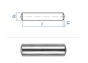 3 x 30mm Zylinderstift  Edelstahl gem. DIN7 / ISO2338 (10...
