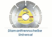 125 x 1,6mm  Diamanttrennscheibe Universal (1 Stk.)