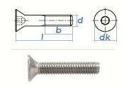 M8 x 10mm Senkschrauben DIN7991 Edelstahl A2 (10 Stk.)