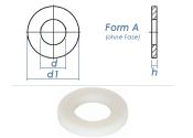 4,3mm Unterlegscheiben DIN125 Polyamid  (100 Stk.)