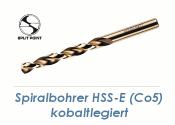 9mm HSS-E Spiralbohrer Co5 kobaltlegiert  (1 Stk.)