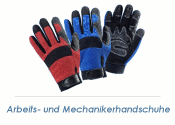 Mechanikerhandschuhe Profi blau/schwarz - Gr. 11 (XXL) (1...