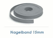 15 x 1mm Nagelband (1 Stk. = 10m Rolle)