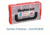 Fischer FIXtainer DUOPOWER Dübelbox 210 teilig (1 Stk.)